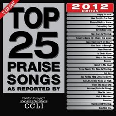 Top 25 Praise Songs 2012